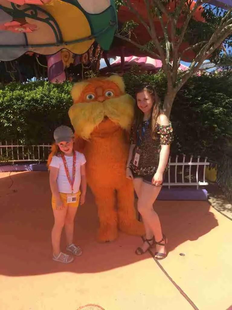 The Lorax Seuss Landing