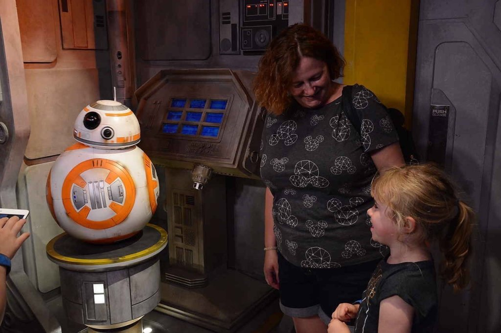 BB8 Star Wars Launchbay Hollywood Studios