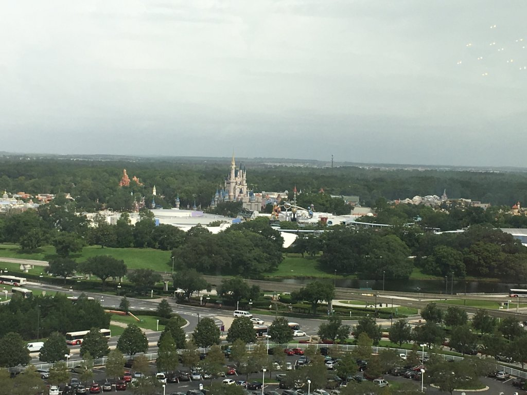 View from California Grill
