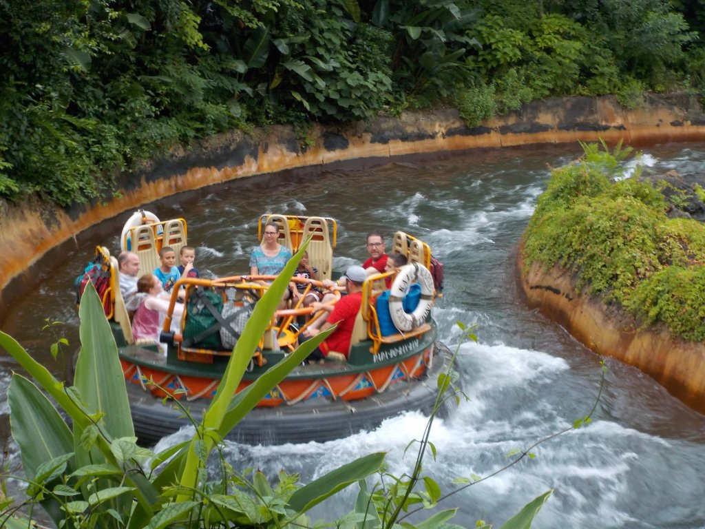 Kali River Rapids Disney's Rider Switch available