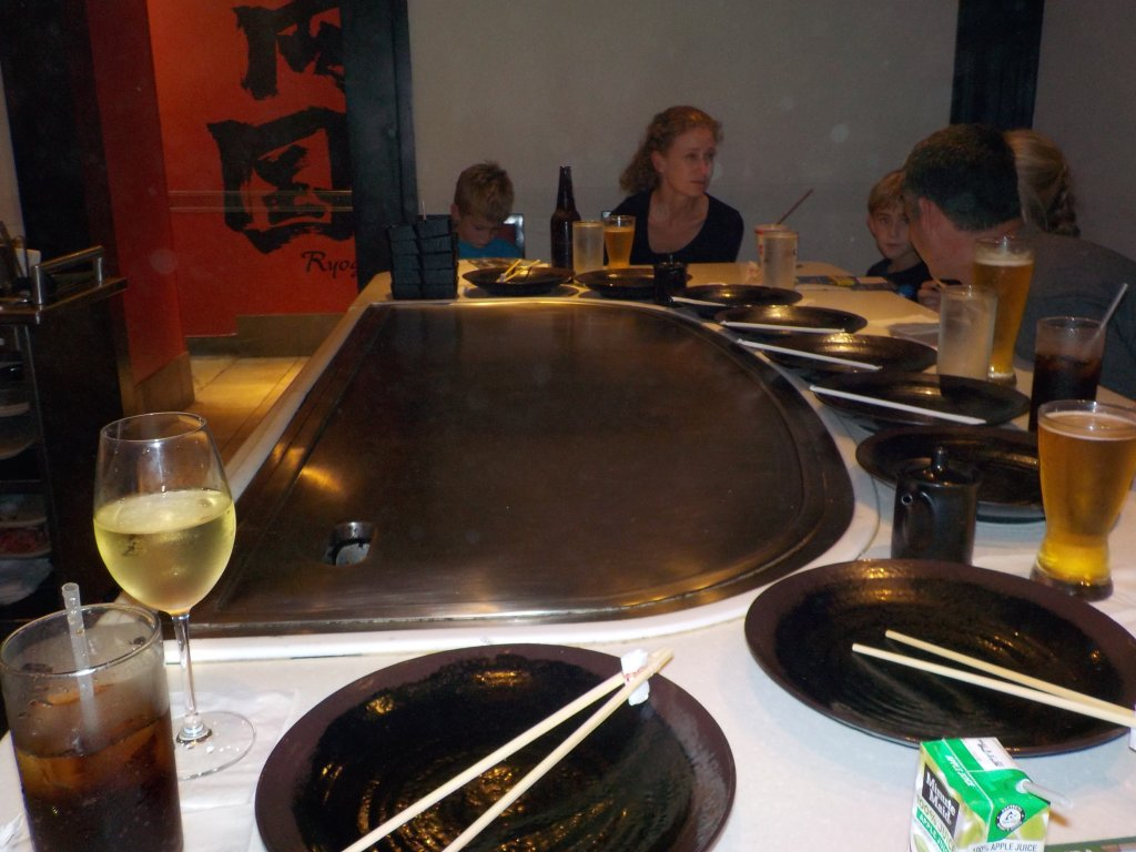 Teppan Edo Japan Epcot not eating in Epcot is a Top Epcot Mistake to avoid