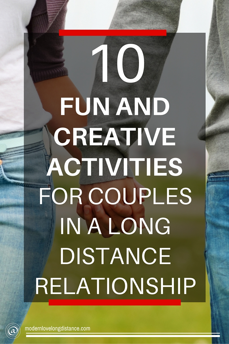 activities for couples in long distance relationships