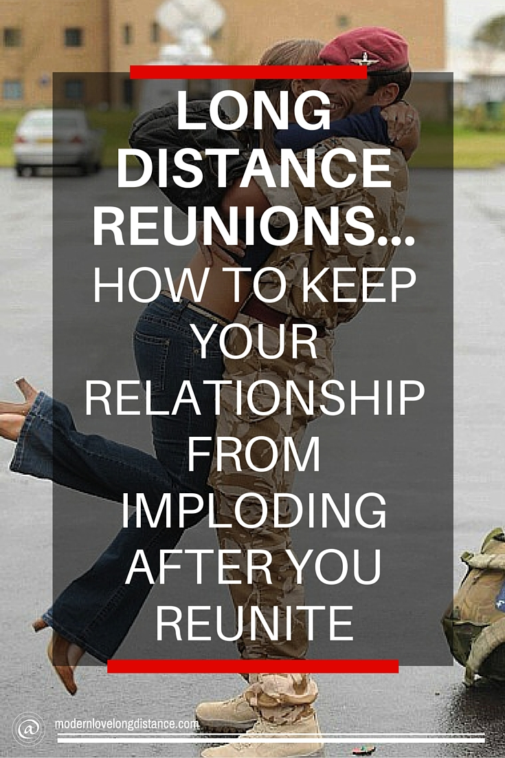 Long distance relationship reunions imploding