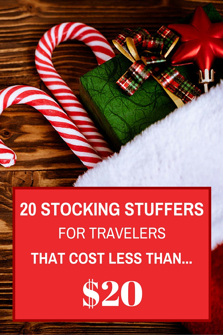 20 Stocking Stuffers For Travelers PINTEREST