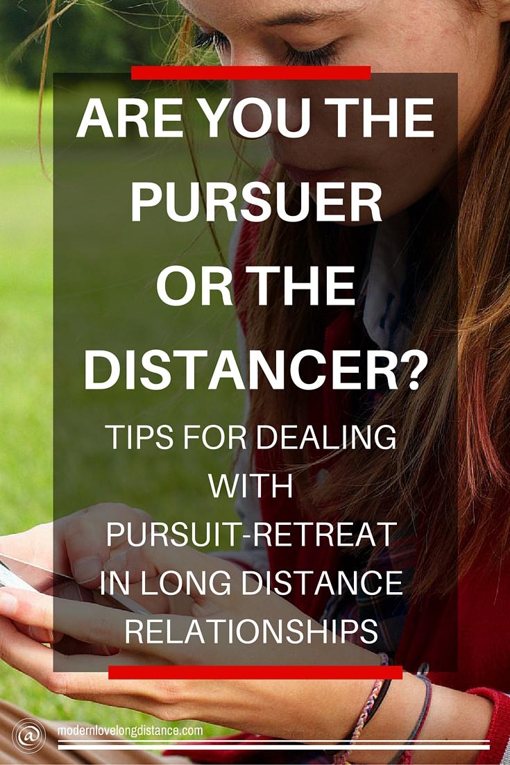 Pursuer distancer dating advice