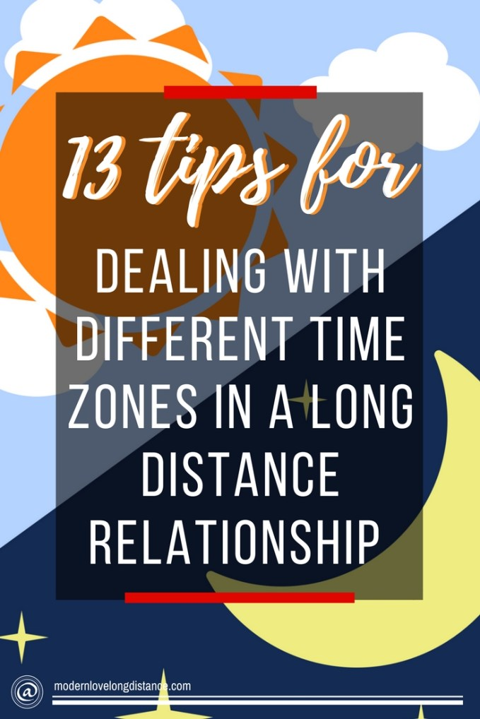 13 Tips For Dealing With Different Time Zones In A Long Distance