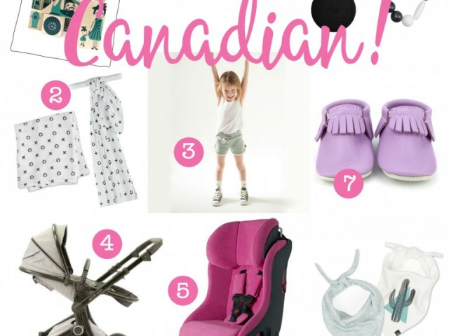 Canadian Baby Gear Brands