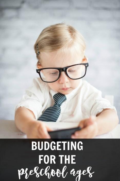 Budget preschool ages
