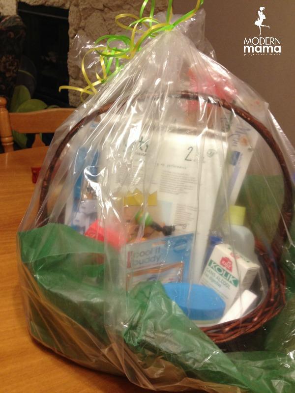Membership Perks: Modern Baby Gift Basket
