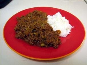 Picadillo and Rice Dish