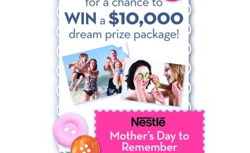 Celebrate Mother's Day with a Family Day Out – Nestle Family Giveaway