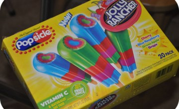 In Florida? We're Always Eating Frozen Treats – Popsicle Jolly Rancher Review