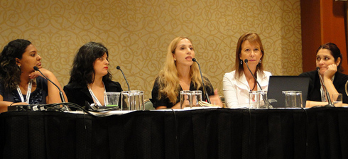 Latinas in Social Media Panel at BlogHer 2010