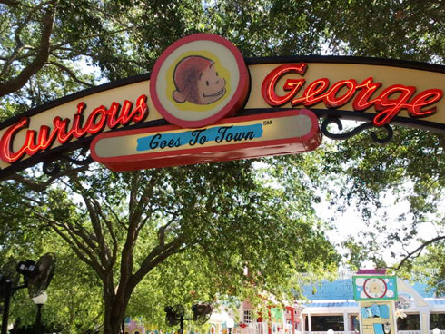 Curious George Goes to Town at Universal Studios Orlando