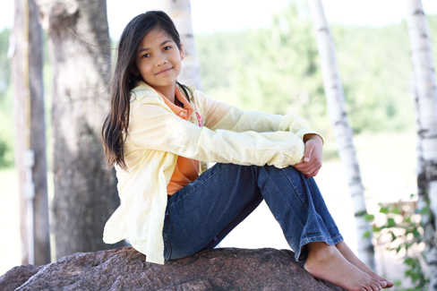 Raising Confident Girls and Encouraging Positive Self Image