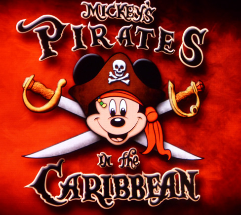 Pirates IN the Caribbean Disney Dream Deck Party
