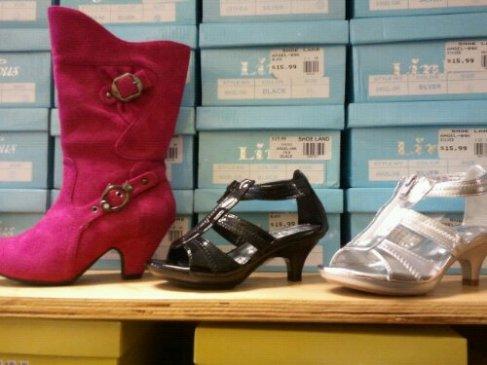 Heels for little girls