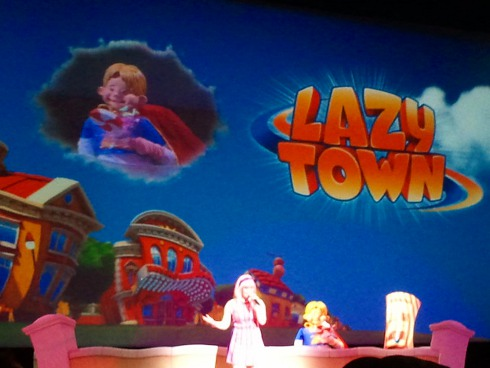 LazyTown Concert at SeaWorld's Just for Kids festival