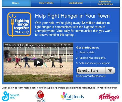 Walmart Fighting Hunger Together