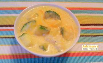 Easy Kid-Friendly Recipe: Zucchini and Cheese