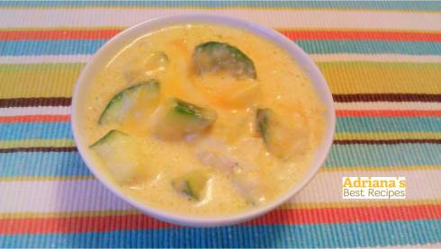 Zucchini and Cheese Recipe