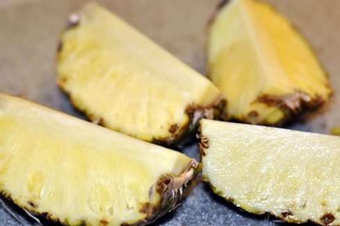 Del Monte's Gold® Extra Sweet pineapples