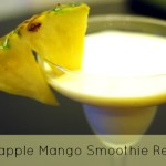 Easy Pineapple Mango Smoothie Recipe to Make with the Kids!