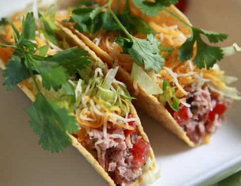 Tuna Fish Tacos from BumbleBee.com