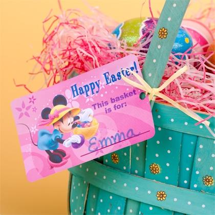 Disney Mickey & Friends Easter Basket Printable Tags