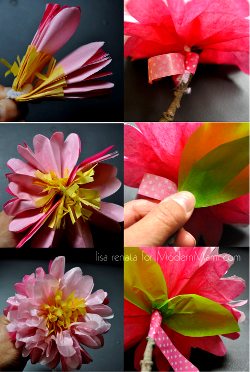 How to make mexican decorations with tissue paper beautiful how to make mexican tissue paper flowers gallery wedding mightylinksfo Gallery