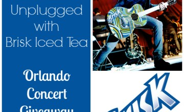 Juanes, Loud & Unplugged with Brisk Iced Tea {Giveaway}