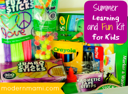 Summer Learning and Fun Kit for Kids