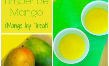 Limber de Mango (Mango Icy Treat) {Recipe}