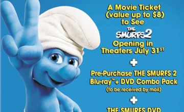 The Smurfs 2 Now in Theaters, Plus How You Can Bring The Smurfs Fun Home!