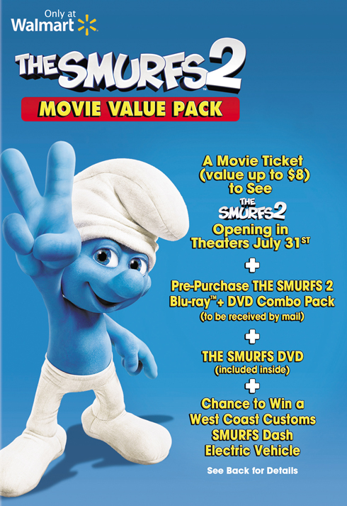 The Smurfs 2 Movie Value Pack at Walmart