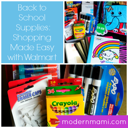 Back to School Supplies: Shopping Made Easy with Walmart