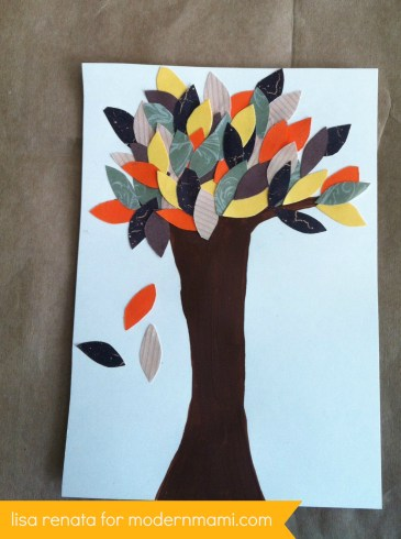 Fall Tree Art Craft for Kids