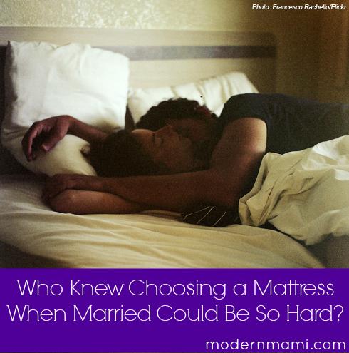 Tips for choosing a mattress as a couple