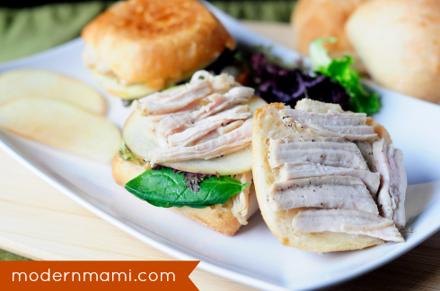 Thanksgiving Leftovers Recipe: Easy Turkey Apple Panini Sliders