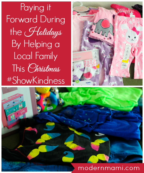 Paying it Forward During the Holidays By Helping a Local Family This Christmas with the Help of Kohl's #ShowKindness