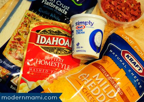 Mashed Potato Pizza Recipe Ingredients