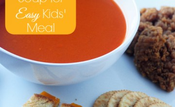 Dipping Fun with Soup for Easy Kids' Meal