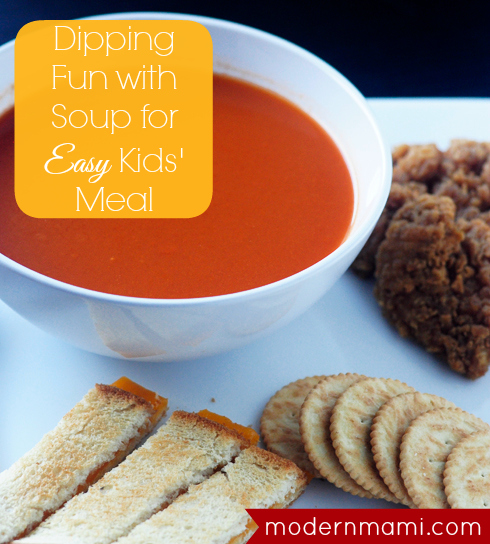 Dipping Fun for Kids with Campbell's Tomato Soup