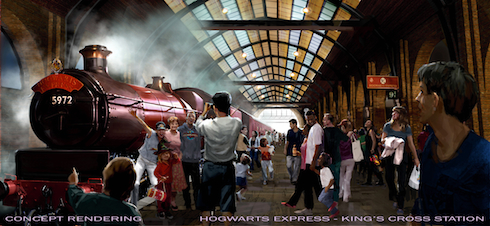 Hogwarts Express King's Cross Station, Diagon Alley Wizarding World of Harry Potter, Universal Orlando
