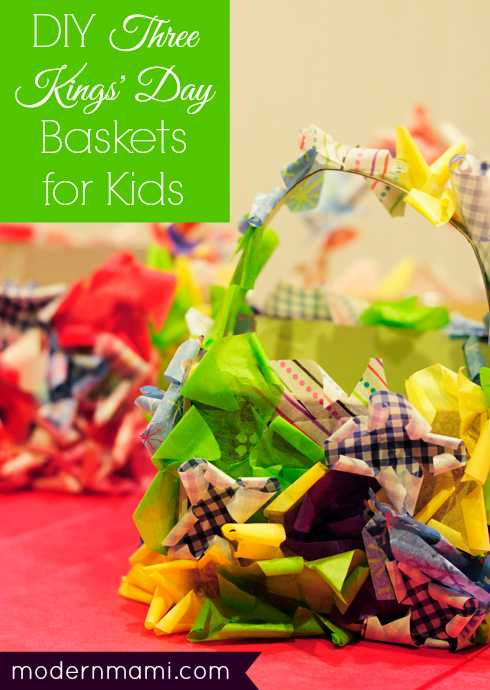 Three Kings' Day Baskets for Kids