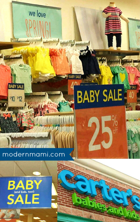 Carter's Spring Style, Shopping Carter's Baby and Kid Spring Sale