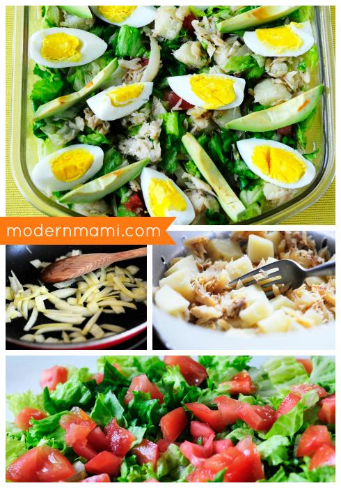 How to Make Ensalada the Bacalao, Puerto Rican Codfish Salad