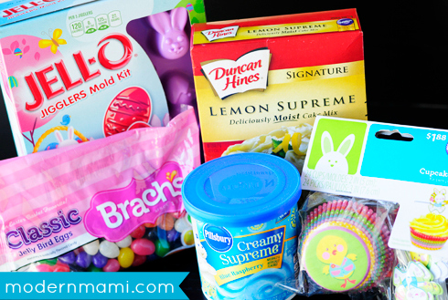 Easter After-School Treat Ideas for Kids, Ingredients Used