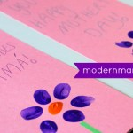 Simple Homemade Mother's Day Card for Kids {Kids Craft}