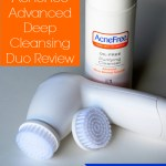Present Your Best Face Forward with AcneFree Advanced Deep Cleansing Duo {Review}